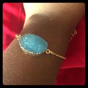 Jewelry - Purple Druzy Crystal Bracelet
